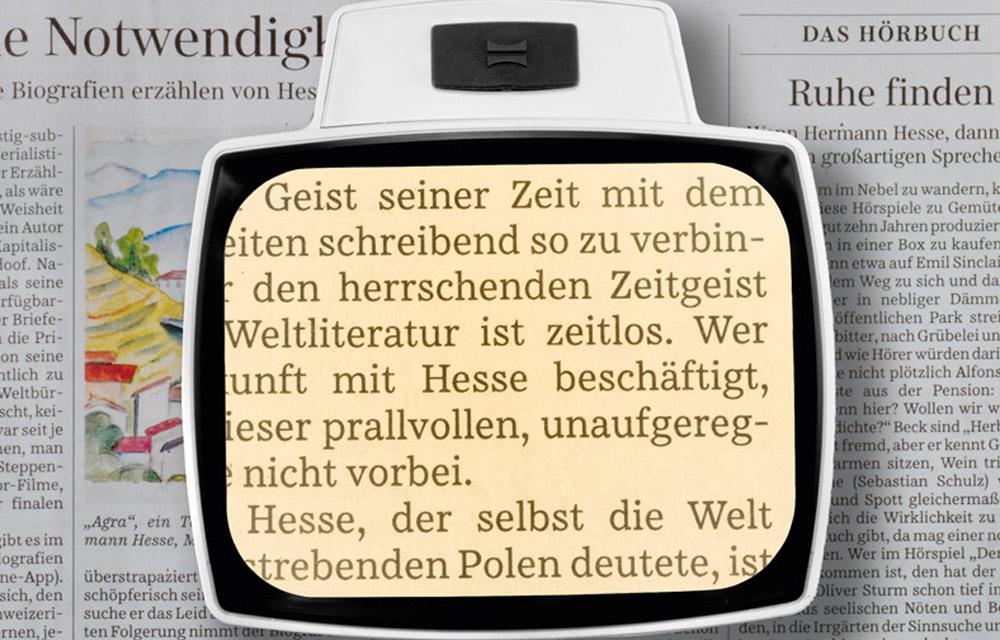 Eschenbach VISOLUX + Lenti d'ingrandimento con illuminazione