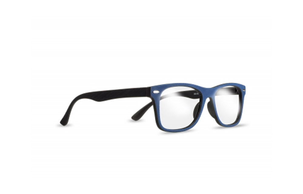 Occhiali da lettura ZIEL BLUE IN L89 – Montatura Blu-Nero