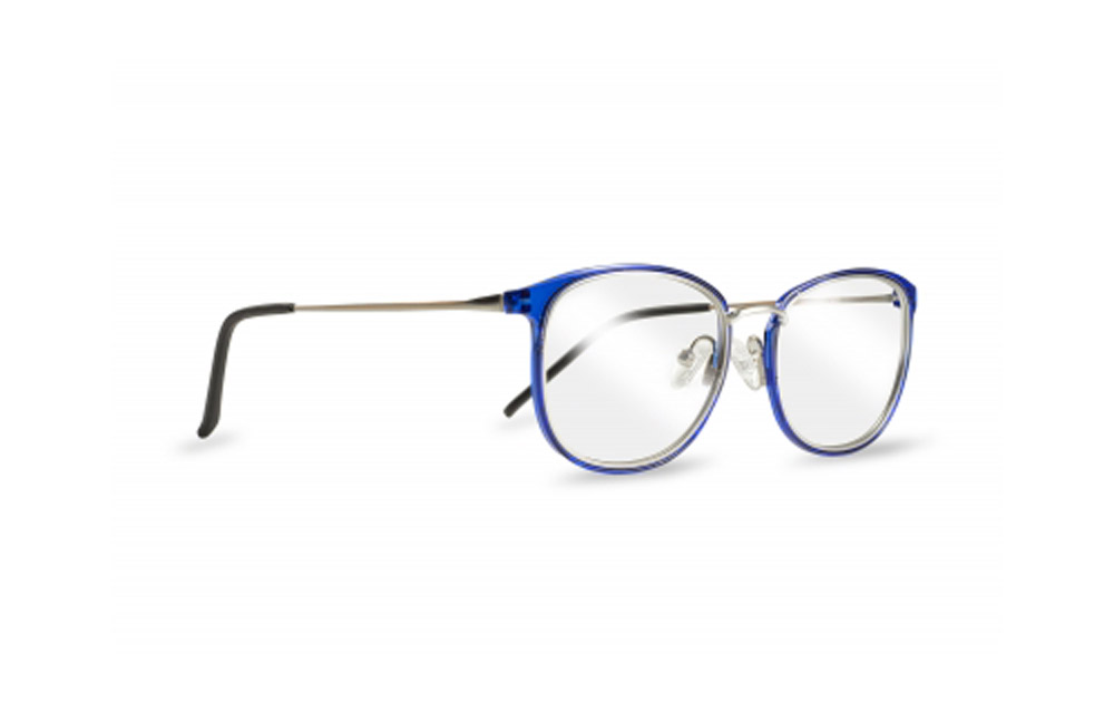 ZIEL Cellò V421 – Montatura Argento-Blu