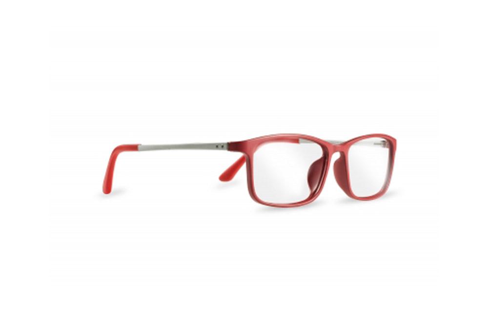 ZIEL Fly V302 – Montatura Rosso-Argento