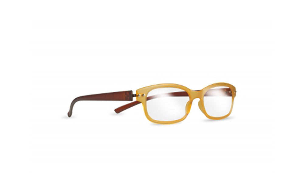 Occhiali da lettura ZIEL Peso Piuma L90 – Montatura Arancio Marrone