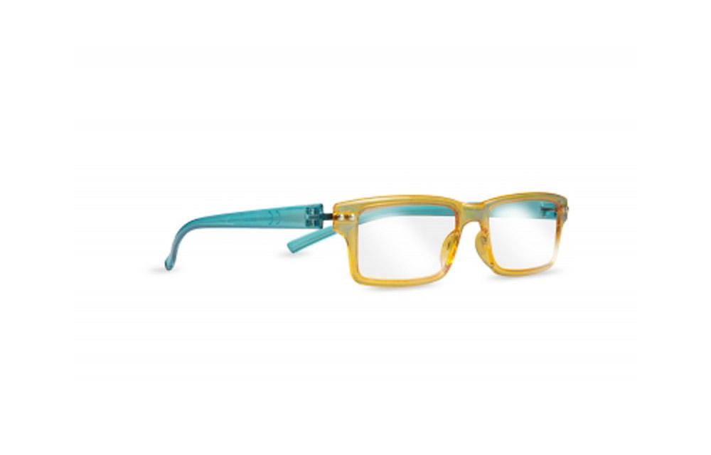 Occhiali da lettura ZIEL Peso Piuma L92 – Montatura Arancio Azzurro