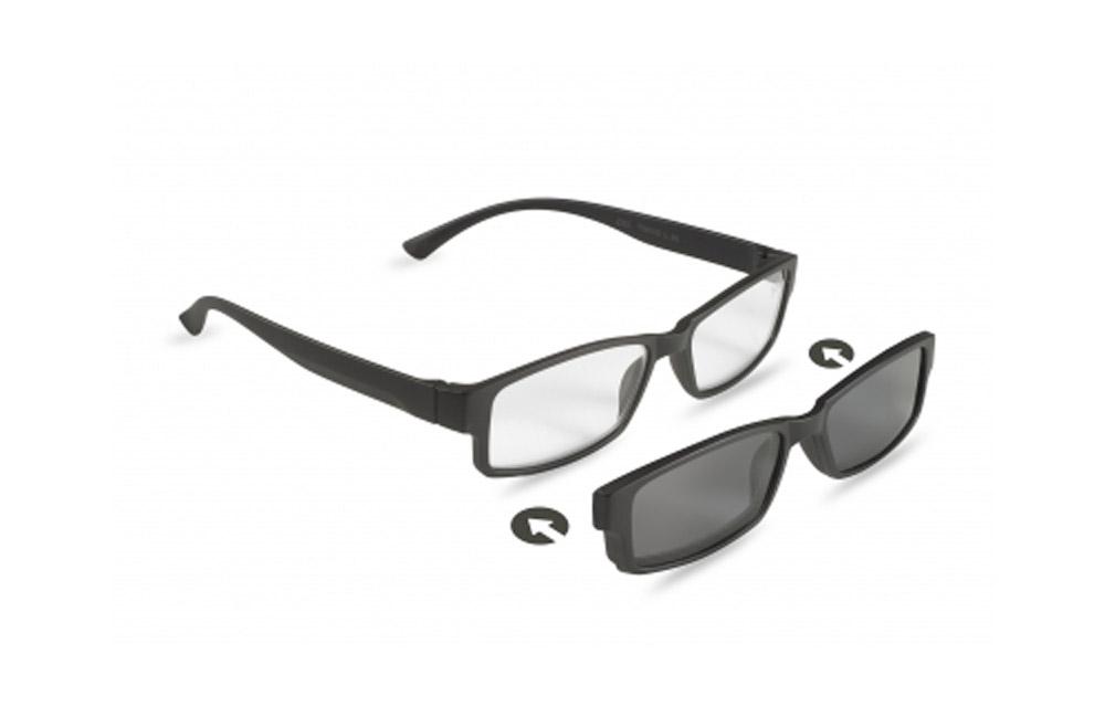 Occhiali da lettura + sole ZIEL TWINS L35 – Montatura Nero