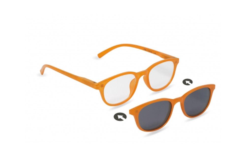 Occhiali da lettura + sole ZIEL TWINS L36 – Montatura Arancio