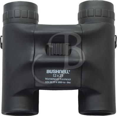 Bushnell Binocolo H2O 12X25 COMPACT TETTO WAT+FOGPROOF