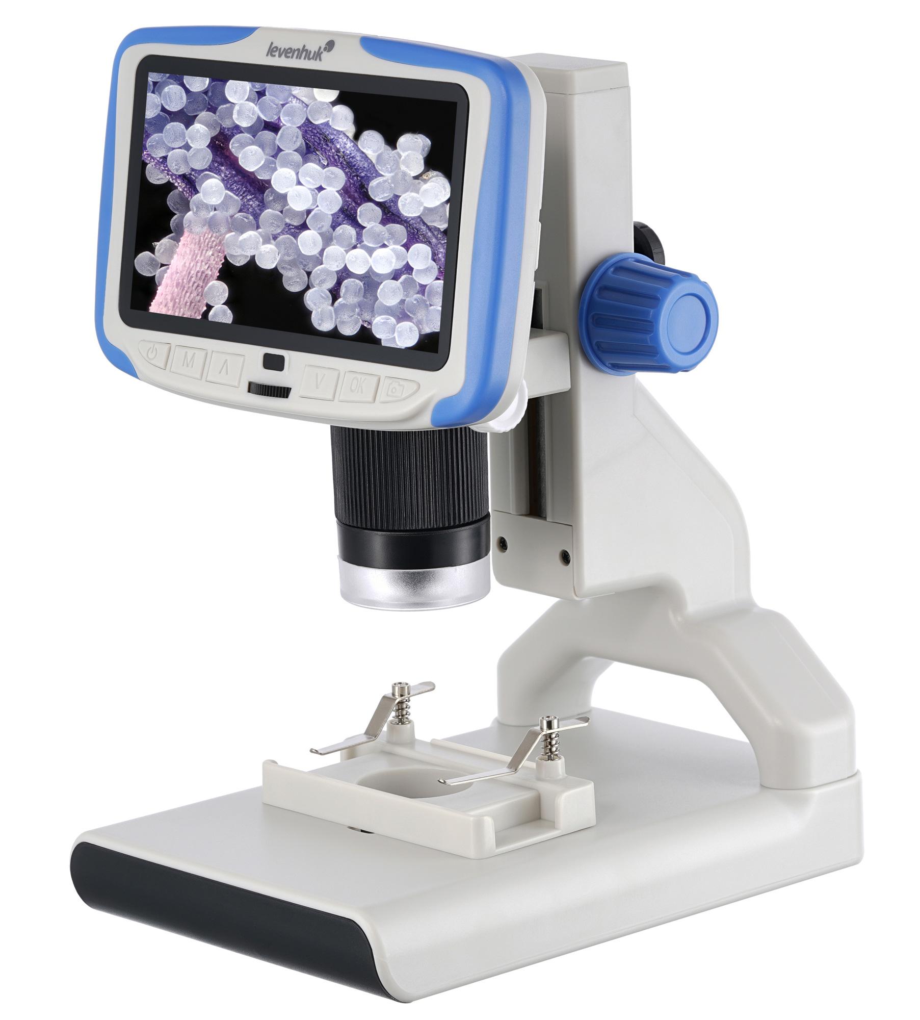 Microscopio digitale Levenhuk Rainbow DM500 LCD