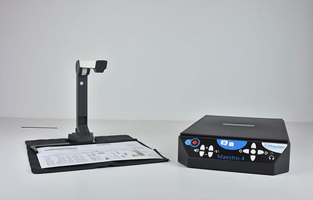 MAESTRO 4.0 – Sistema per lettura automatica, scanner e telecamera
