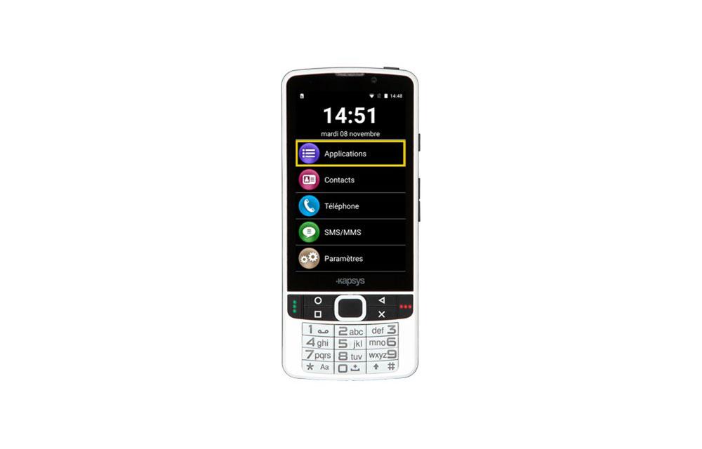 SMARTVISION 2 PREMIUM – Smartphone con sintesi vocale
