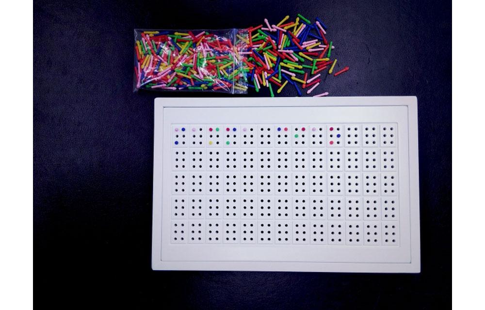 COLOREDO strumento per apprendimento Braille