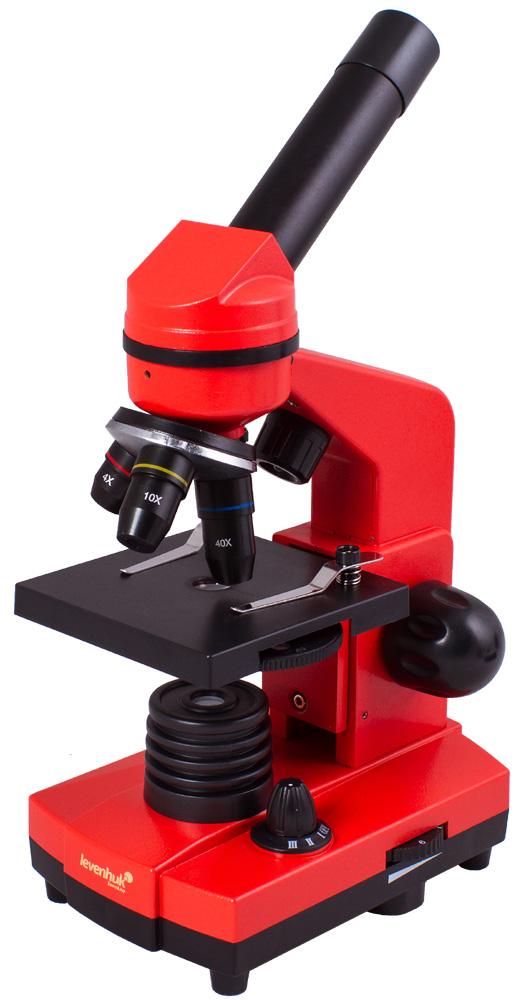 Microscopio Levenhuk Rainbow 2L, arancio