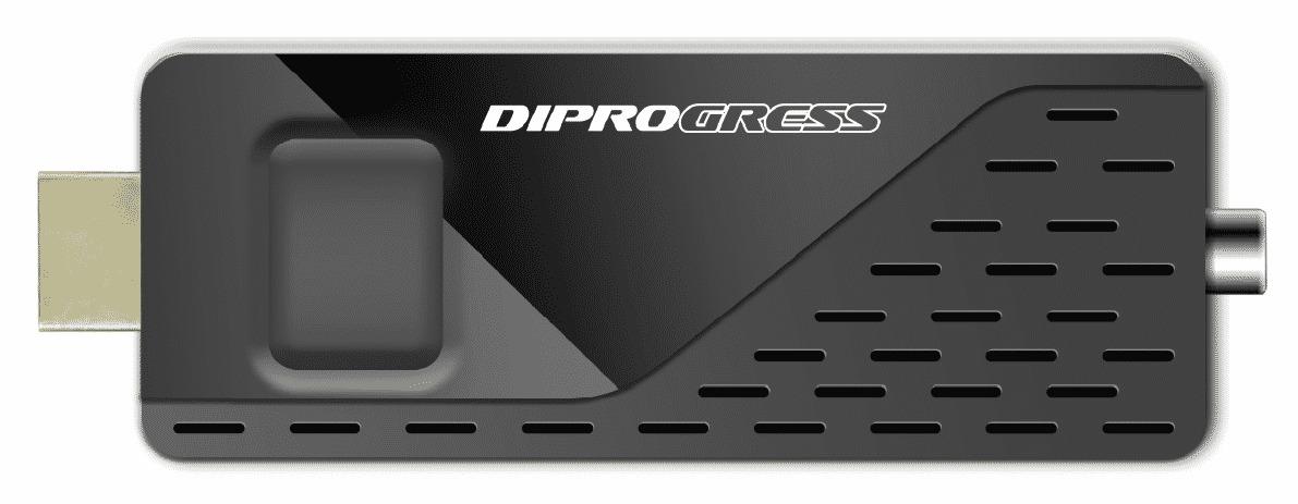 Ricevitore digitale Terrestre DVB-T2 H265/HEVC Main 10bit – DPT210HA HDMI Stick DONGLE con Telecomando Universale per TV.