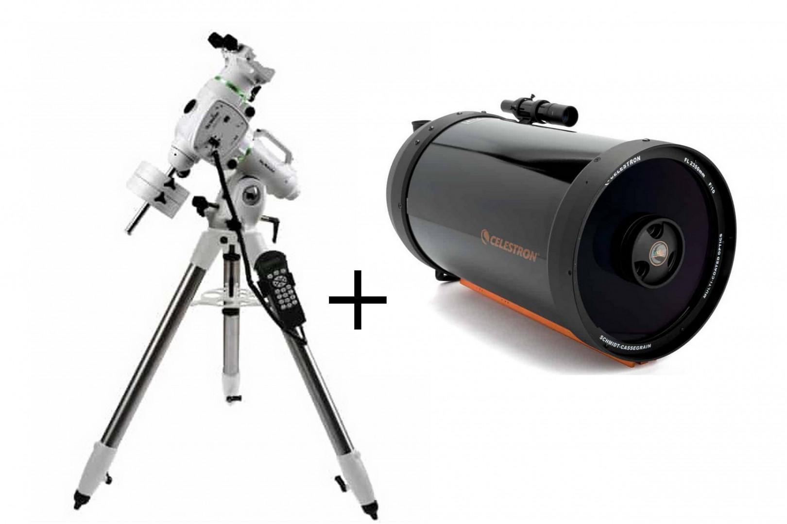 C 925 XLT CG5 + EQ6-R SynScan
